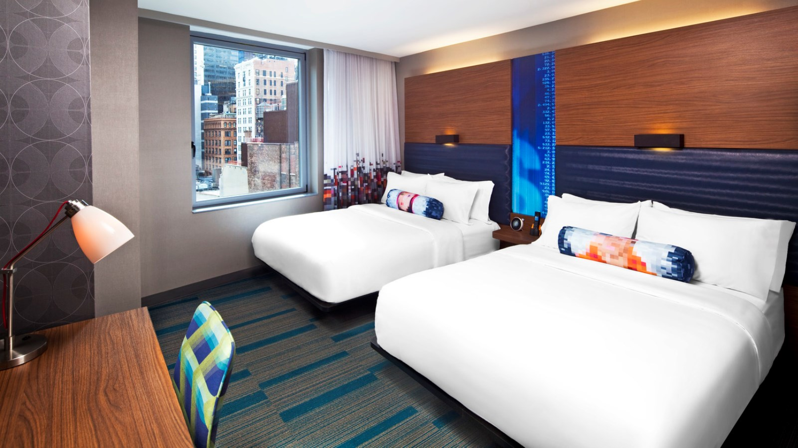 Aloft Double Queen Guest Room